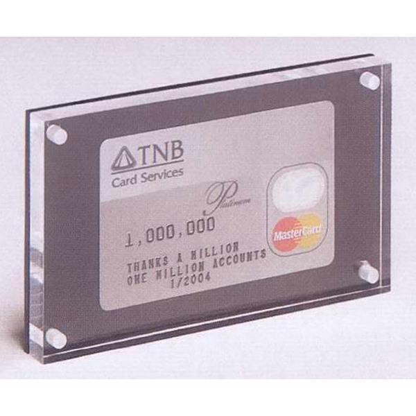 Personalized 1-Sided Credit Card Insertment