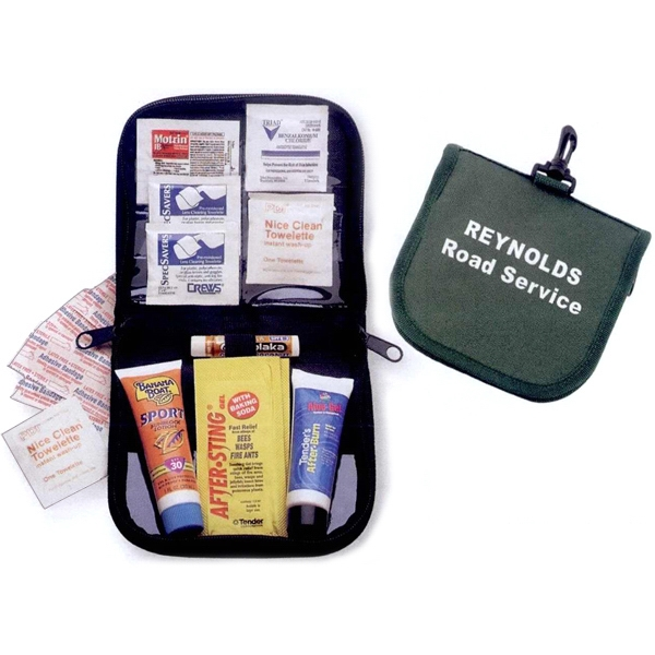 Imprinted Deluxe Beach And Sun Kit