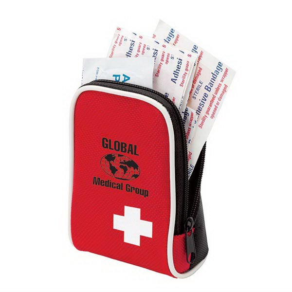 Printed 28 Piece First Aid Kit