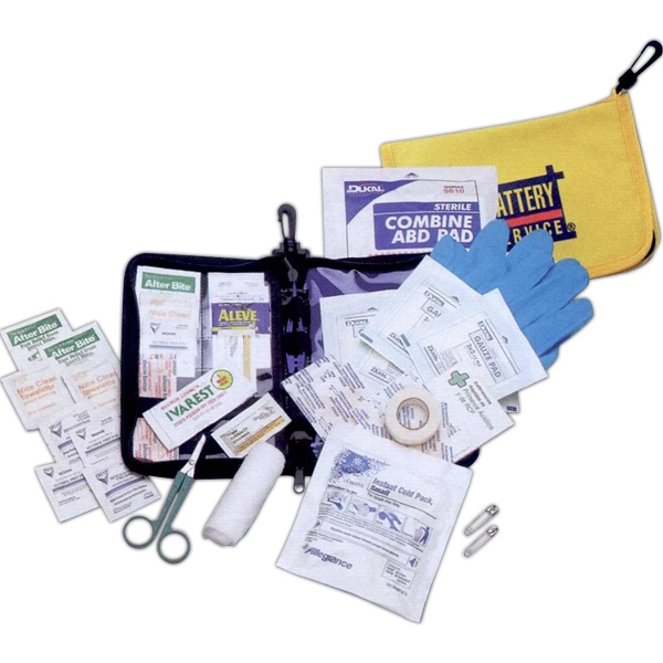 Imprinted Travelers First Aid Kit