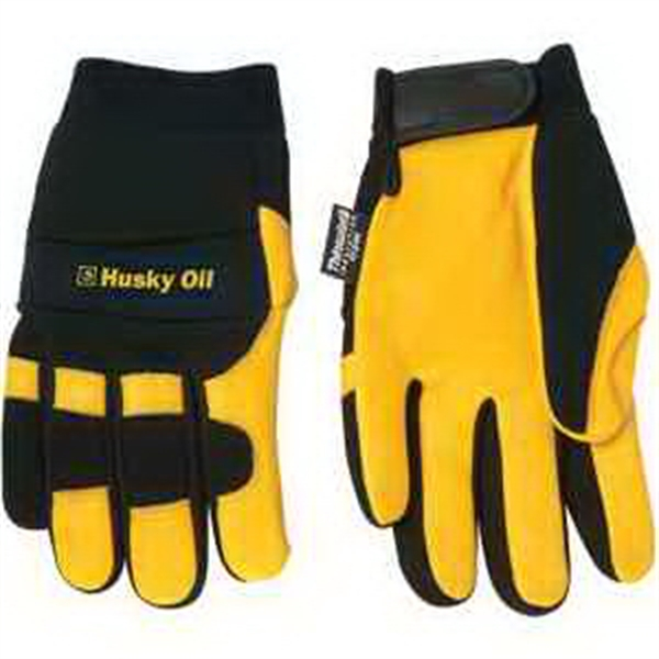 Personalized Deerskin Palm Mechanic Glove