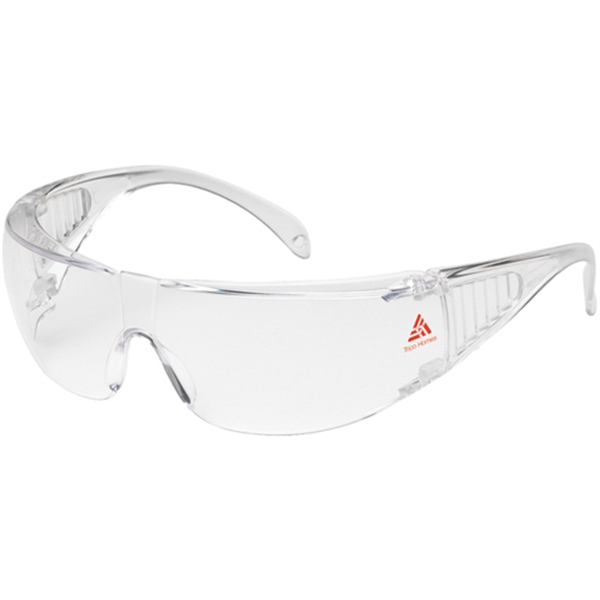 Printed Bouton Ranger Clear Glasses