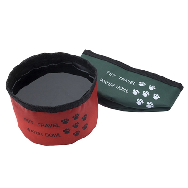 Imprinted Portable Pet Bowl