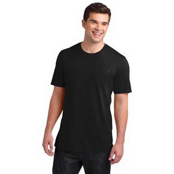 District (R) Young Mens Very Important Tee (R) with Pocket