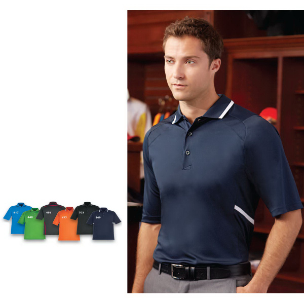 Imprinted Propel EPerformance (M) Interlock Polo w/Contrast Tape