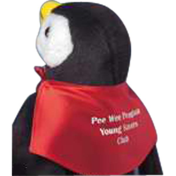 Imprinted Cape for stuffed animal