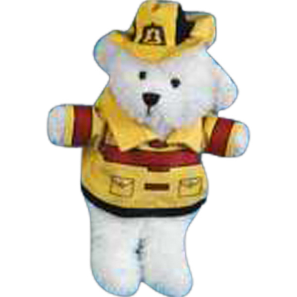 Customized Fireman outfit for stuffed animal