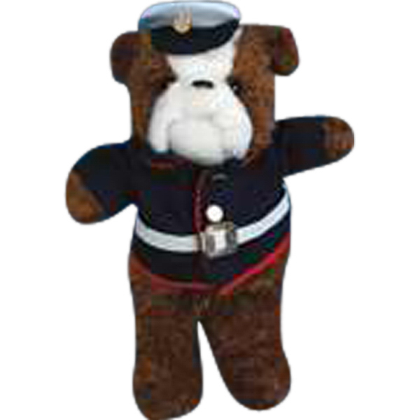 Imprinted Marine outfit for stuffed animal