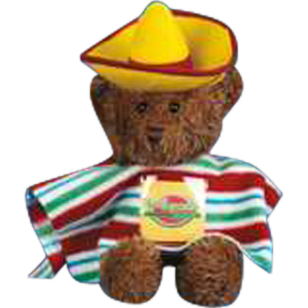 Personalized Mexican outfit for stuffed animal