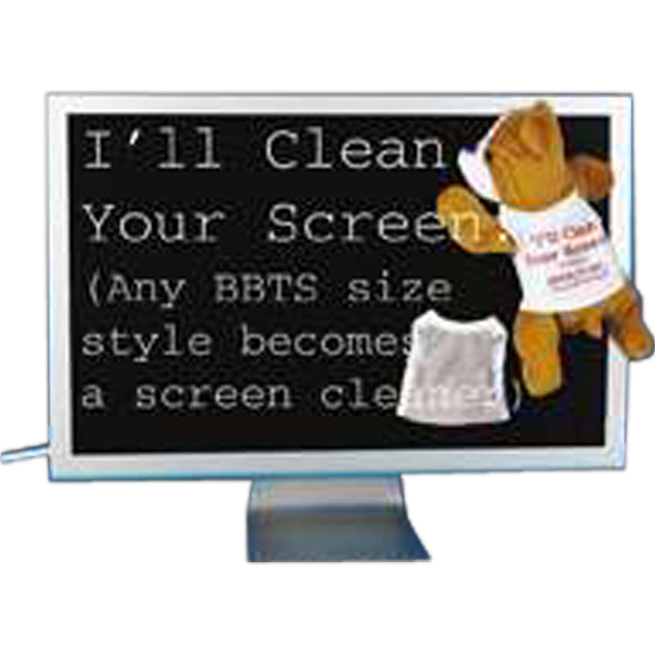 Customized Screen Cleaner tee shirt for stuffed animal