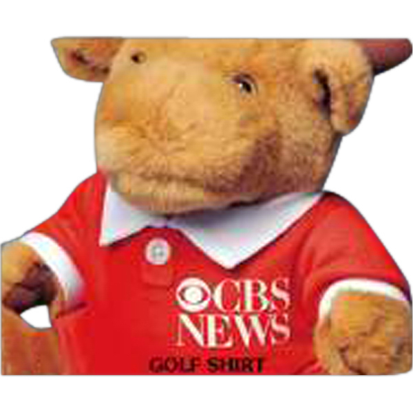 Imprinted Golf shirt for stuffed animal