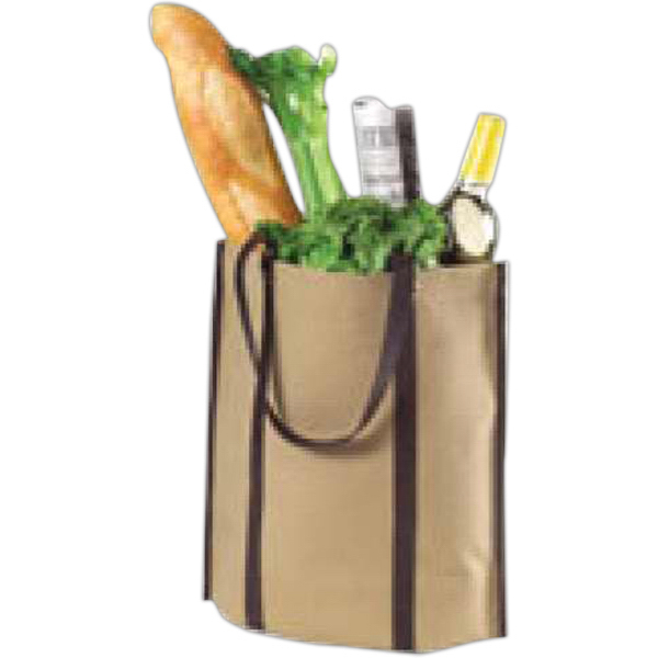 Customized Canvas rollup tote bag