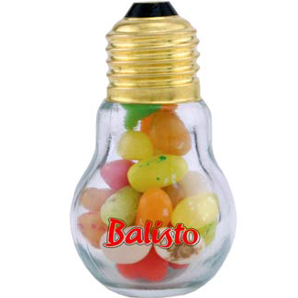 Imprinted Mini Light Bulb-Jelly Beans