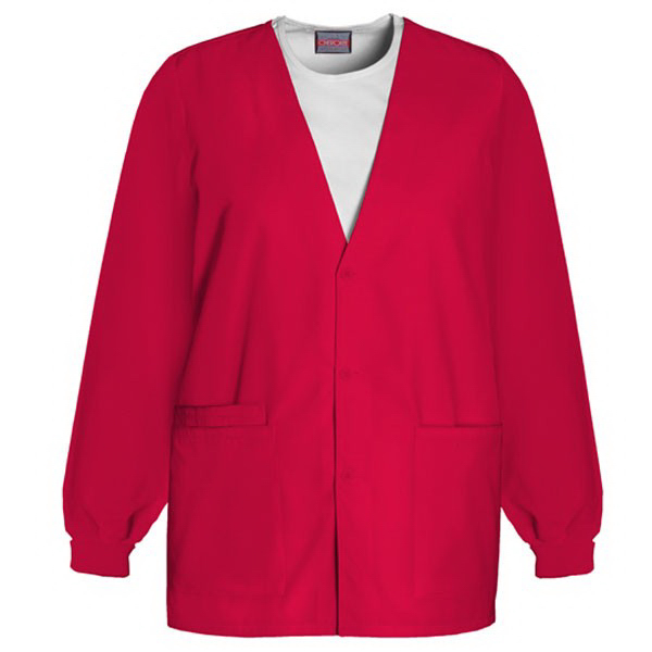 Promotional Cardigan v-neck scrub jacket