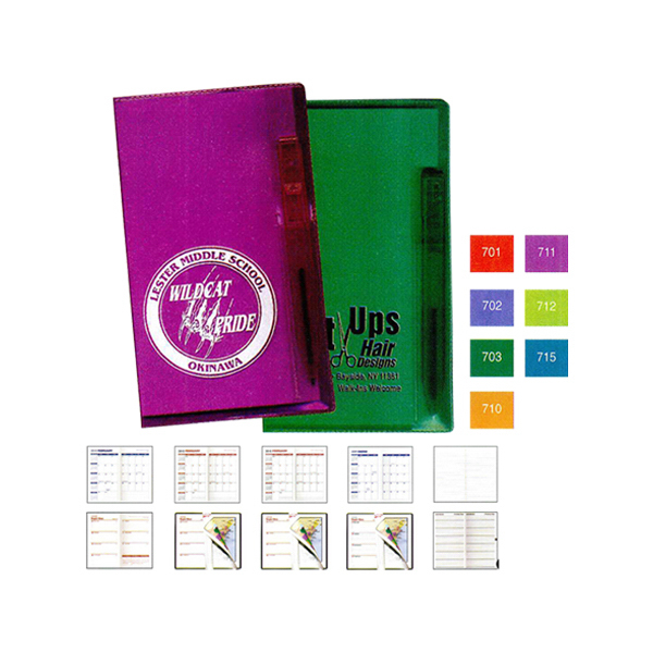 Personalized Weekly Planner with Pen