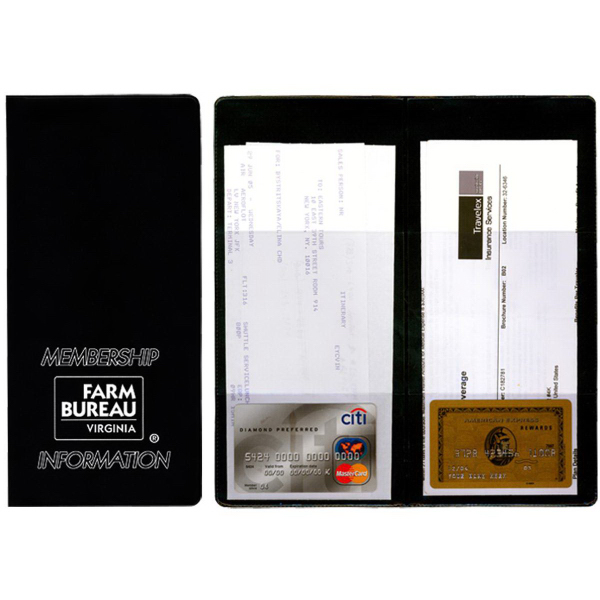 Imprinted Policy and Document Holder