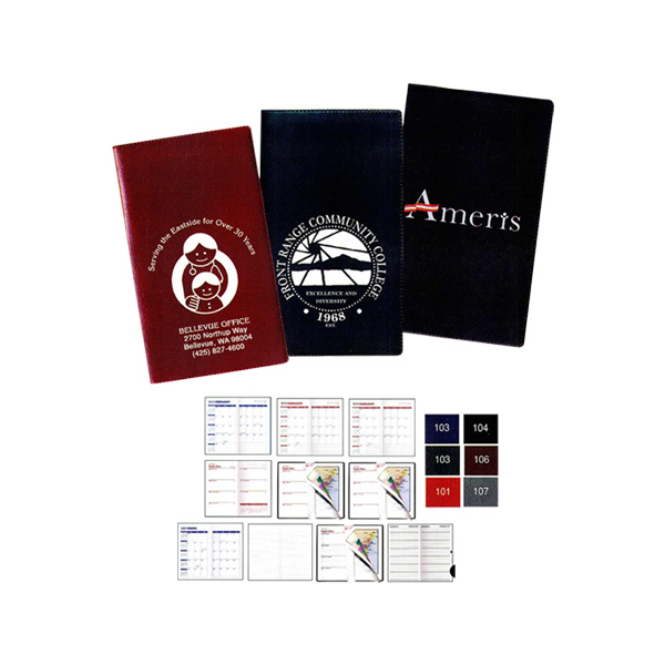 Printed Castillion Expanded Vinyl Planner Monthly