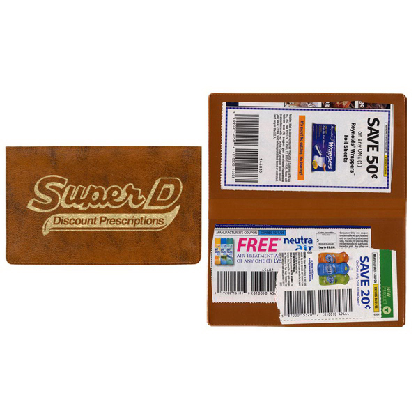 Customized Two Pocket Coupon Case