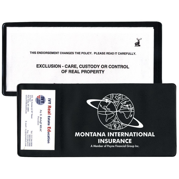 Imprinted Large Policy Holder