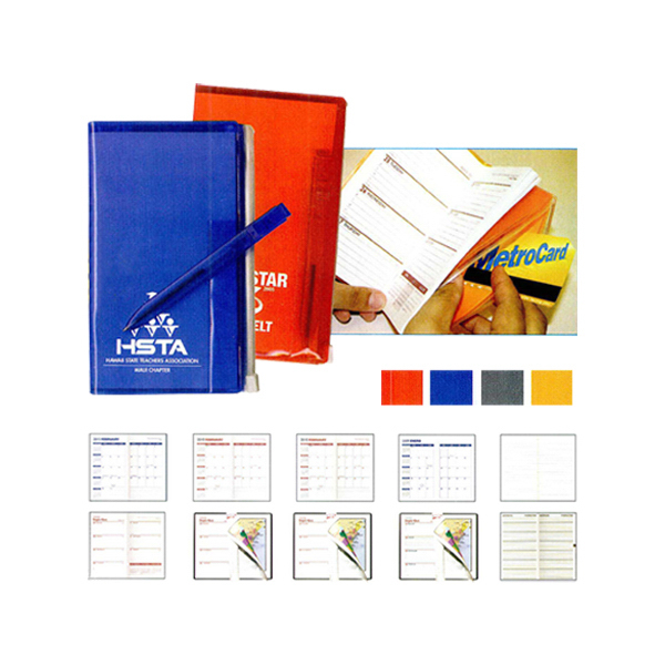 Personalized Tally Book with Pen
