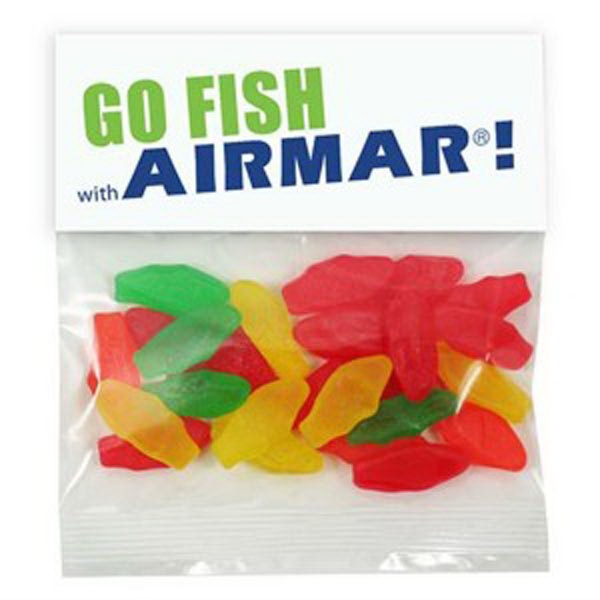 Promotional 2 oz Swedish Fish (R) (Small Assorted) Header Bag