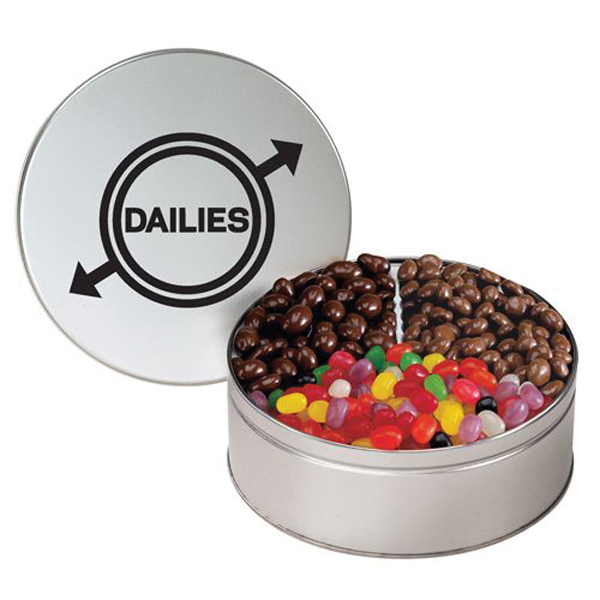 Personalized 3 Way Treat Tin / Medium