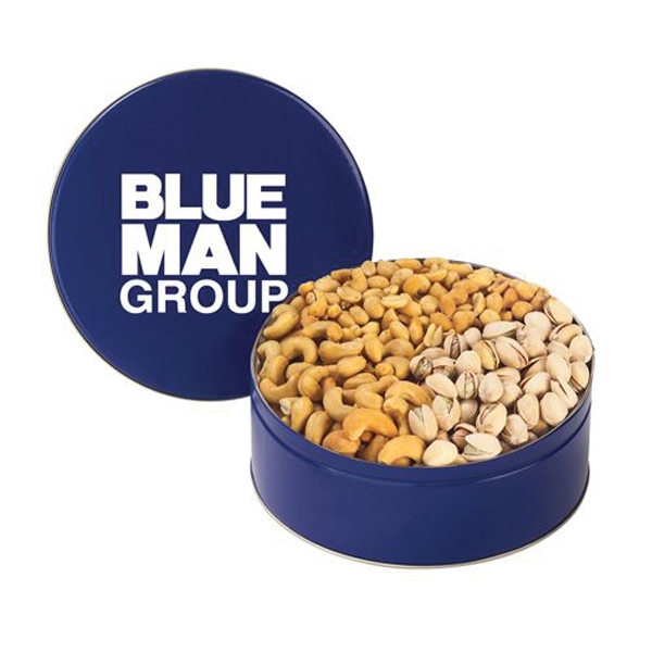 Printed 3 Way Nut Tin / Medium