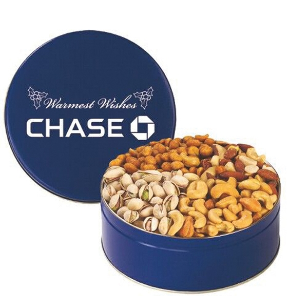 Promotional 4 Way Nut Tin / Medium