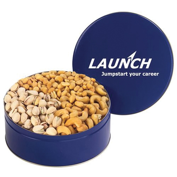 Customized 3 Way Nut Tin / Large
