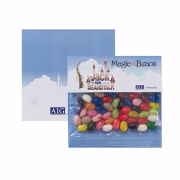 Custom Large Billboard Header Bag with Gourmet Jelly Beans