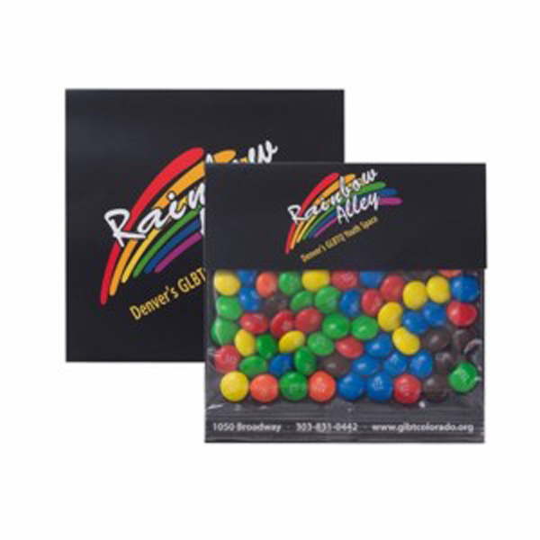 Promotional Large Billboard Header Bag with Candy Coated Chocolates