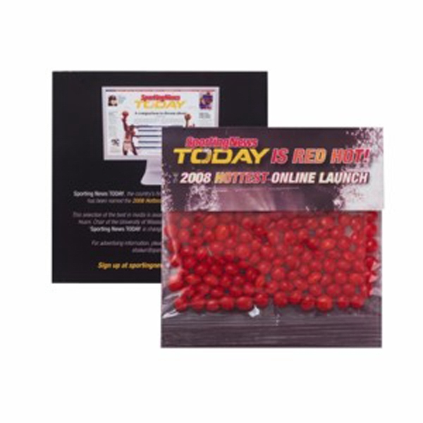 Customized Large Billboard Header Bag with Red Hots®