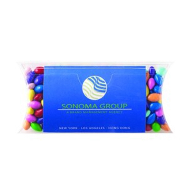 Imprinted Pillow Case with Business Card Slot