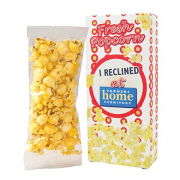 Personalized Popcorn Box / Butter Popcorn