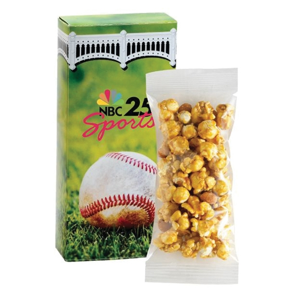 Promotional Caramel Corn with Peanuts Box