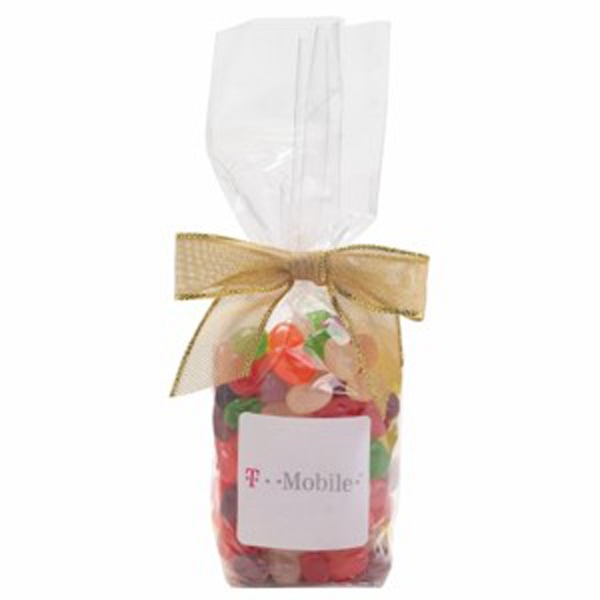 Promotional Elegant Mug Stuffer Bag / Jelly Beans (Assorted 9.5 oz)