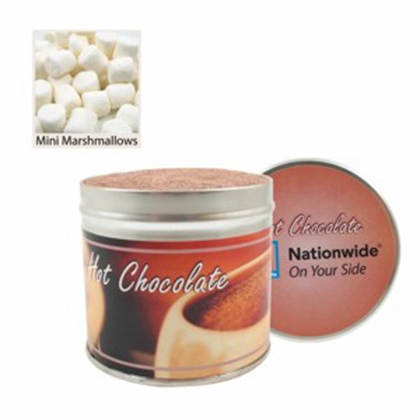Promotional Gourmet Hot Chocolate Tin / Large