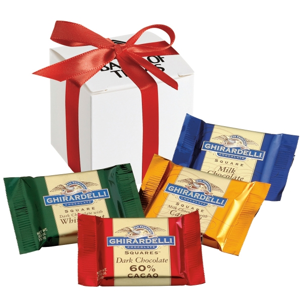 Promotional Ghirardelli (R) Gift Box