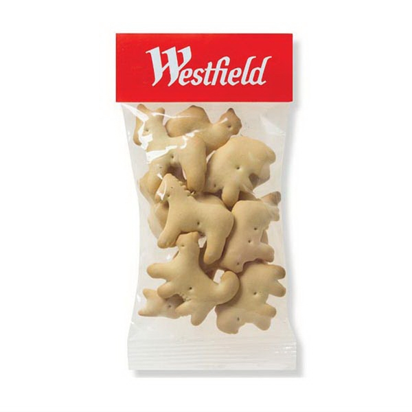 Promotional 1 oz Animal Crackers / Header Bag
