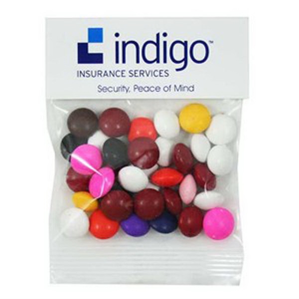 Customized 1 oz Chocolate Buttons (Choose Your Colors) / Header Bag