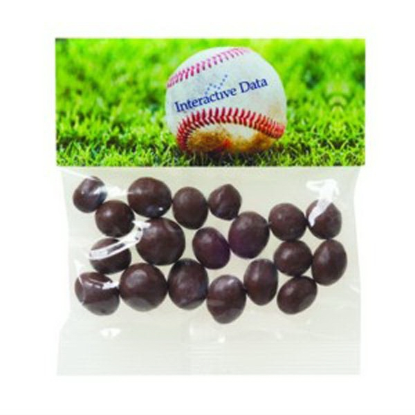 Personalized 2 oz Chocolate Peanuts / Header Bag