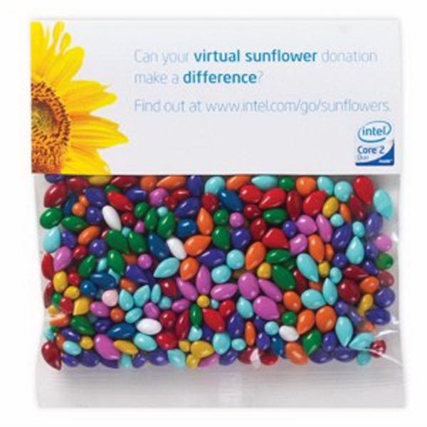 Personalized 2 oz Chocolate Covered Sunflower Seeds - Gemmies