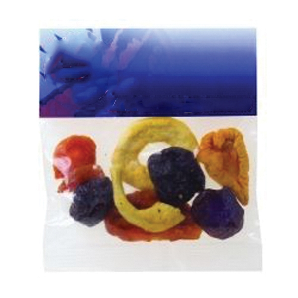 Printed 2 oz Dried Fruit / Header Bag
