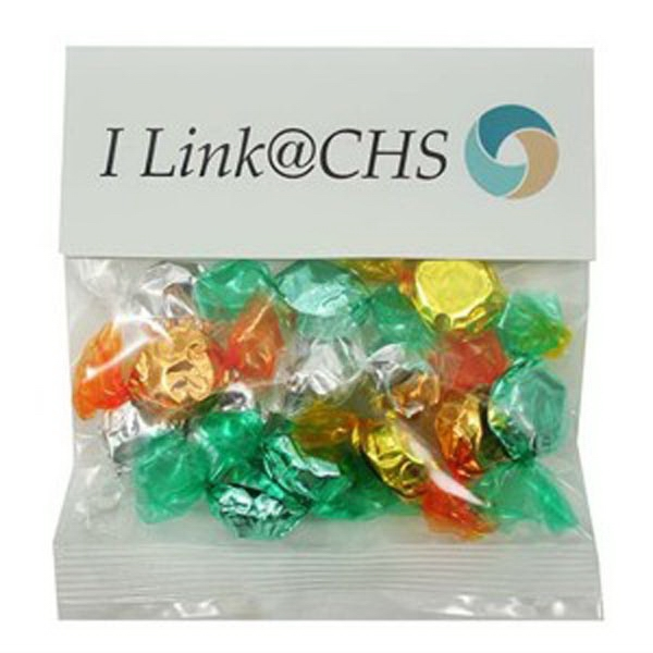 Customized 2 oz Foil Wrapped Hard Candies (Choose Your Colors)