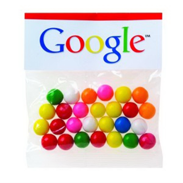 Imprinted 2 oz Gumballs / Header Bag