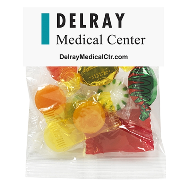 Promotional 2 oz Hard Candy / Header Bag