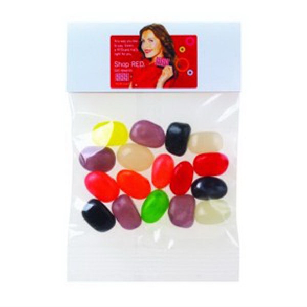Promotional Jelly Beans (Assorted) / Header Bag