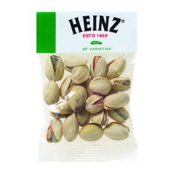 Personalized 1 oz Pistachio Nuts / Header Bag