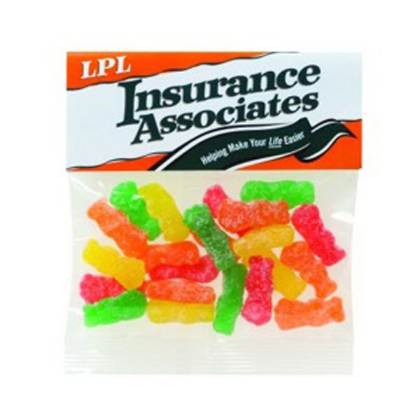 Imprinted 2 oz Sour Patch (R) Kids / Header Bag