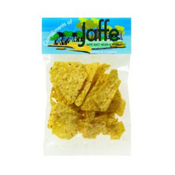 Imprinted 1 oz Taco Chips / Header Bag